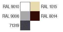 vertikalios markizės - spalvos