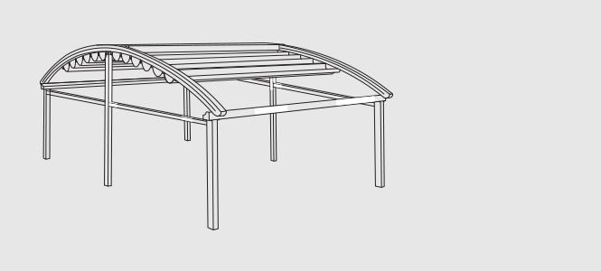dvigubos konstrukcijos terasa