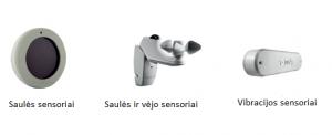automatinis valdymas sensoriai