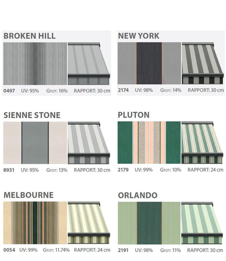 Awnings textiles collection fantasy