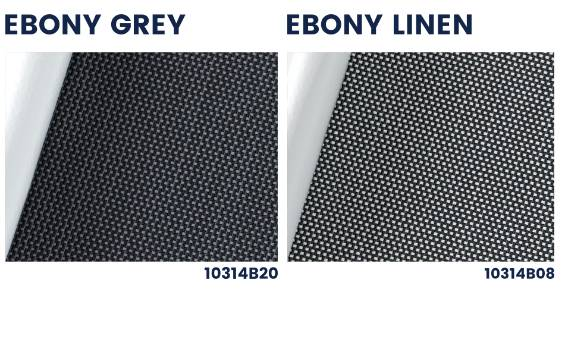 Polyscreen 314 blackout outdoor roller blinds