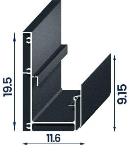 Compact konstrukcijos matmenys centimetrais