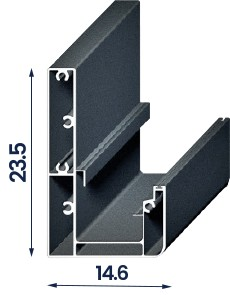 Plus pergolės konstrukcijos matmenys