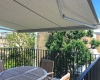 Namų balkono uždengimas markize